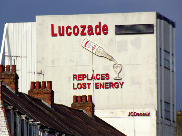 Lucozade Sign Brentford