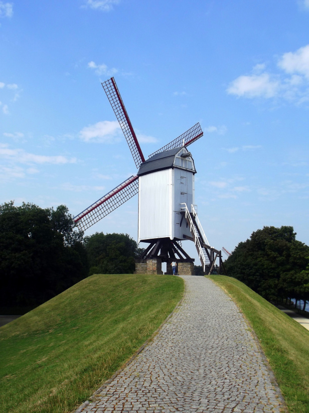 windmill bruges