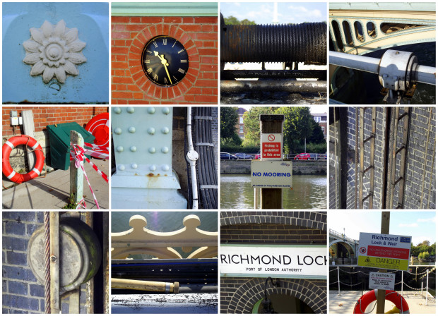 Richmond Lock collage